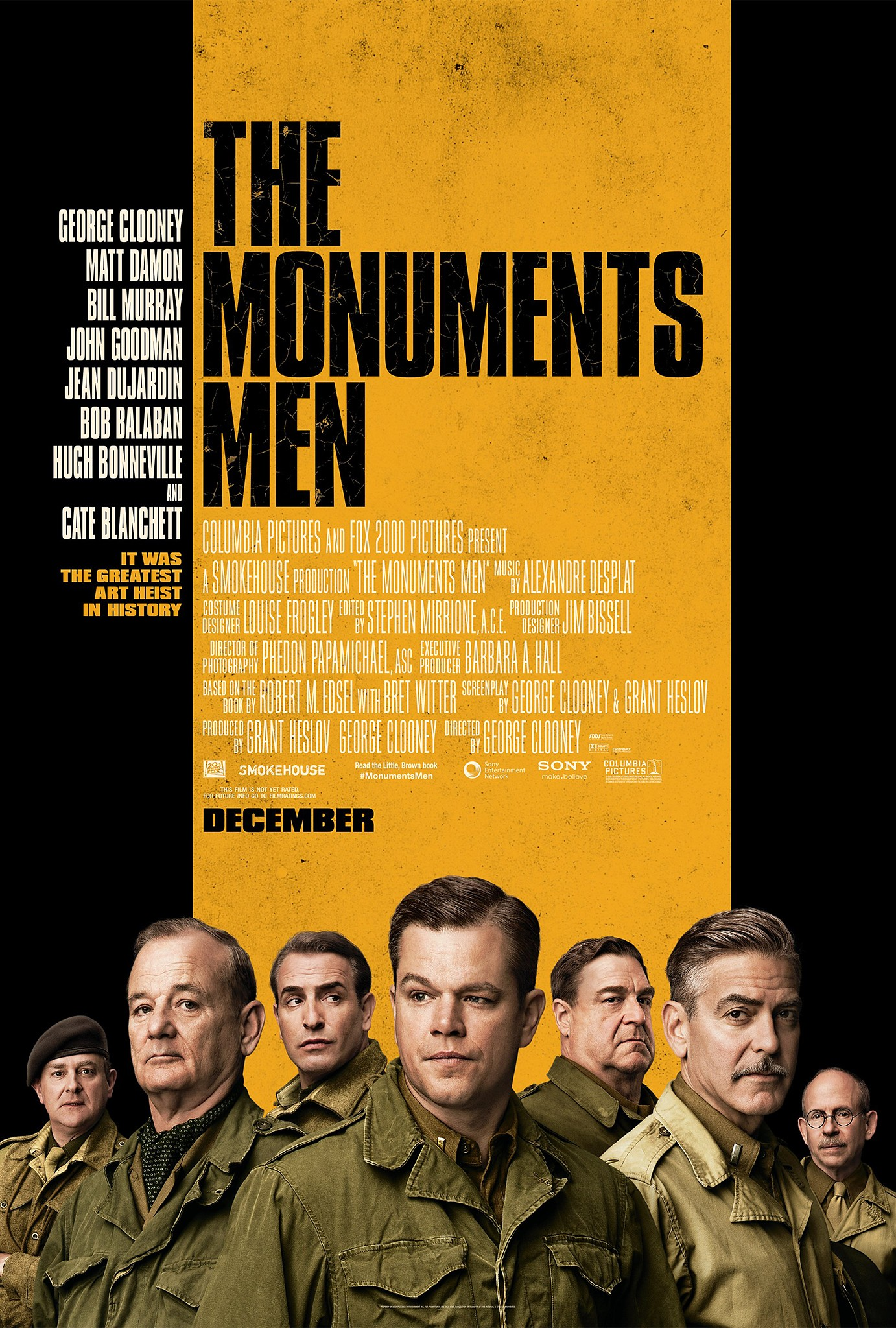 The Monuments Men-Official Poster Banner PROMO POSTER-23AGOSTO2013