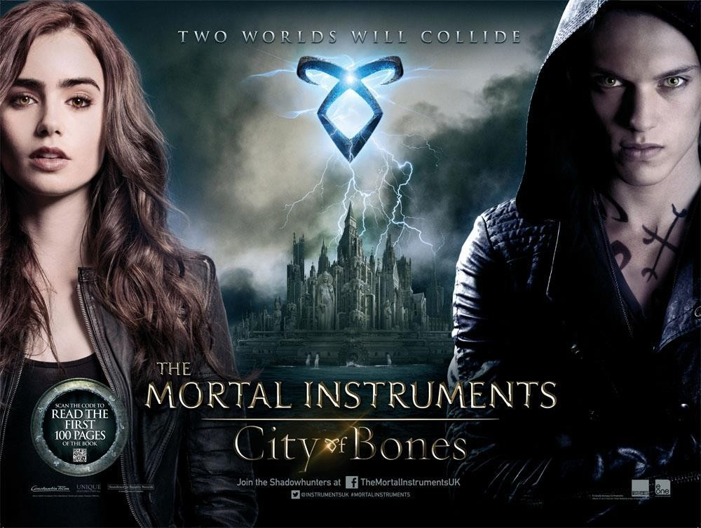 The Mortal Instruments City of Bones-Official Poster Banner PROMO-13MAIO2013