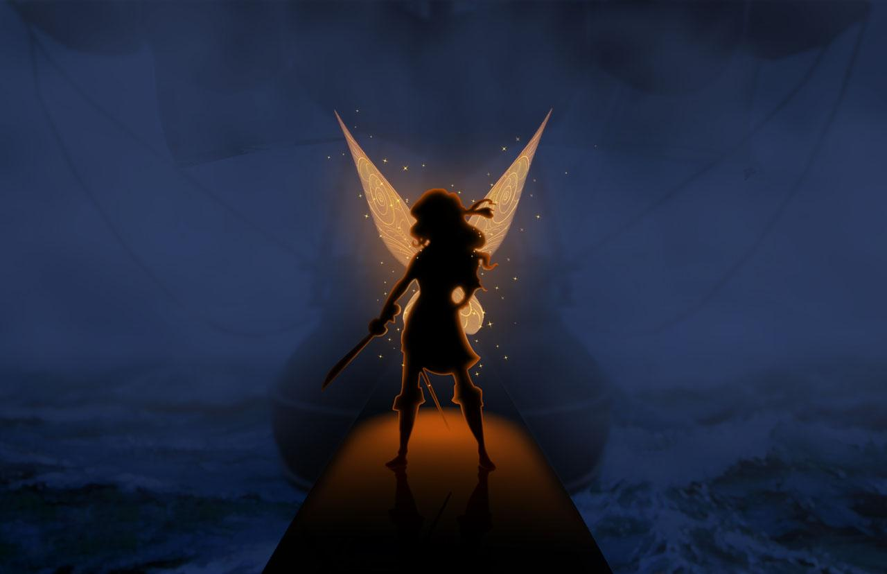The Pirate Fairy-Official Poster Banner PROMO PHOTO-12AGOSTO2013
