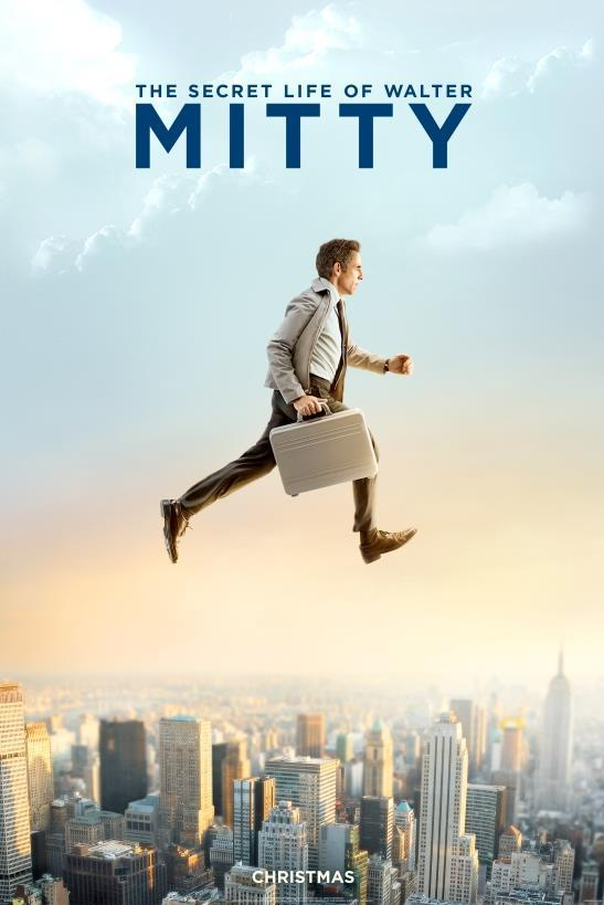The Secret Life of Walter Mitty-Official Poster Banner PROMO POSTER-29AGOSTO2013
