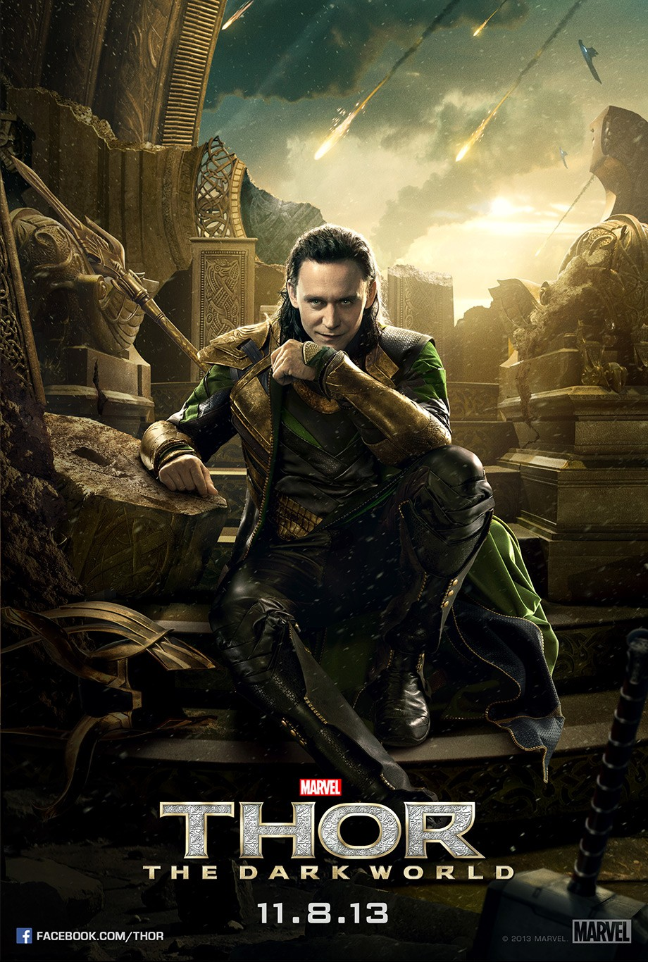 Thor The Dark World-Offcial Poster Banner PROMO CHAR-27AGOSTO2013-01
