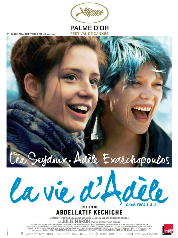 Blue is the Warmest Color-Official Poster Banner PROMO POSTER-05SETEMBRO2013