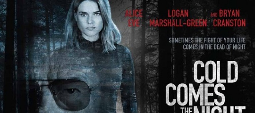Alice Eve e Bryan Cranston estampam banner inédito do thriller criminal Cold Comes the Night