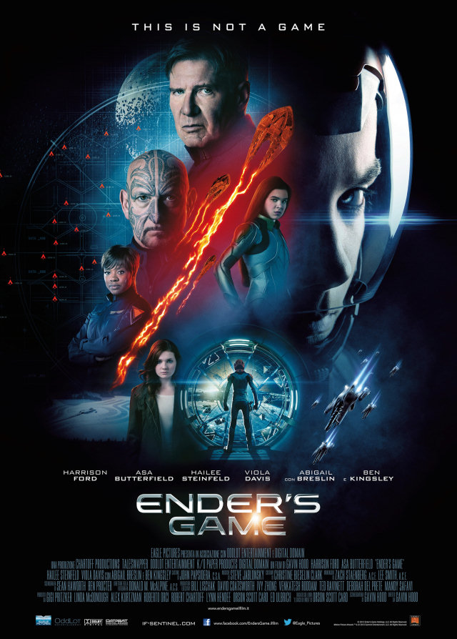 Ender's Game-Official Poster Banner PROMO POSTER-09SETEMBRO2013
