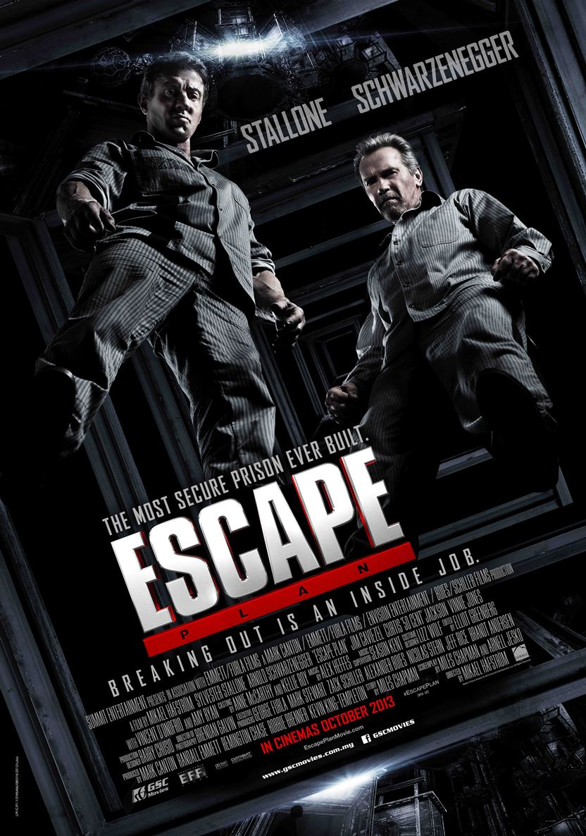 Escape Plan-Official Poster Banner PROMO POSTER-06SETEMBRO2013-01