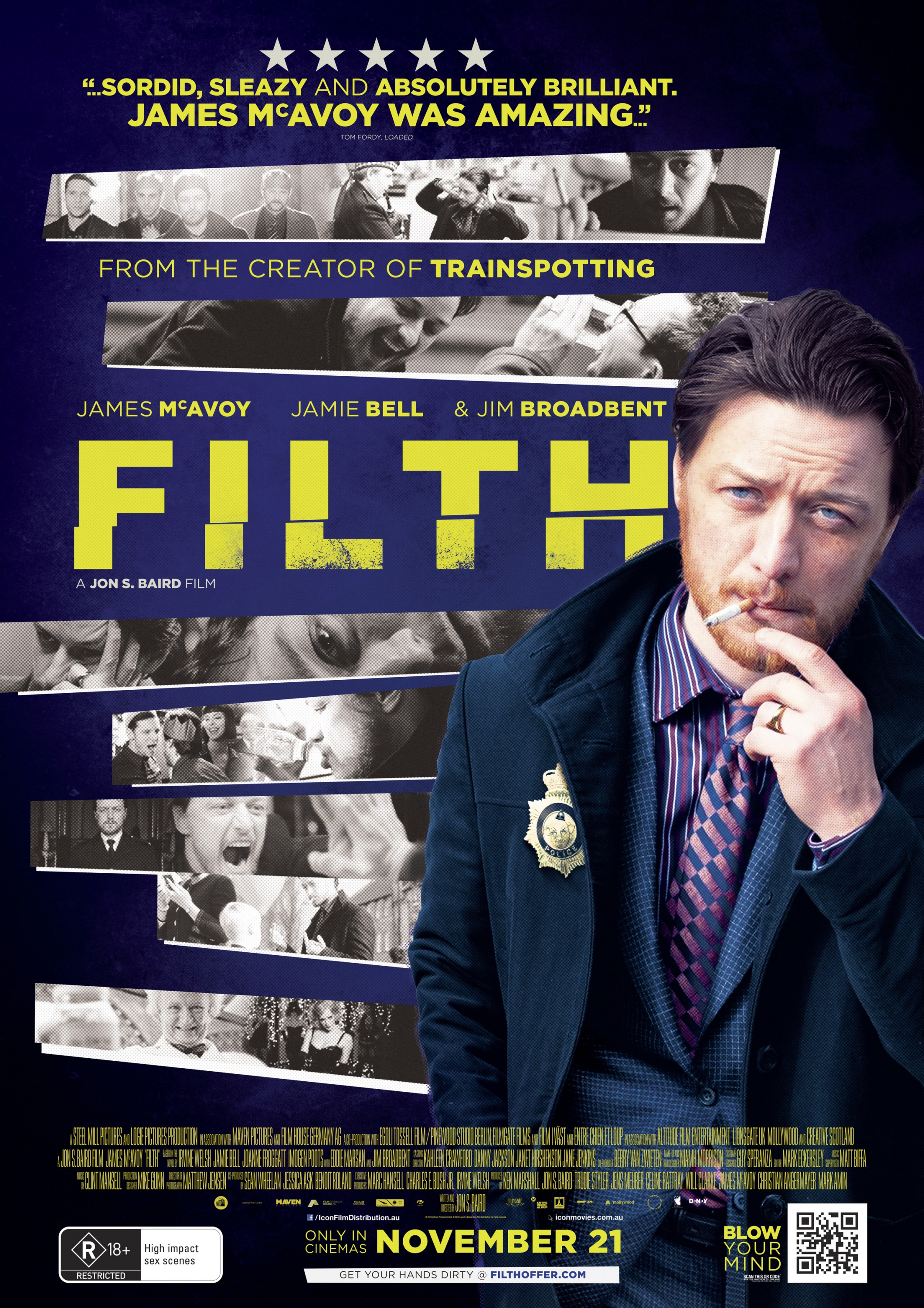 Filth-Official Poster Banner PROMO POSTER-26SETEMBRO2013