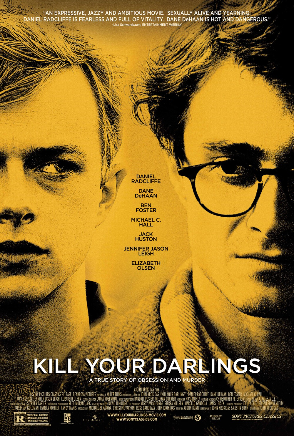 Kill Your Darlings-Official Poster Banner PROMO POSTER-27AGOSTO2013