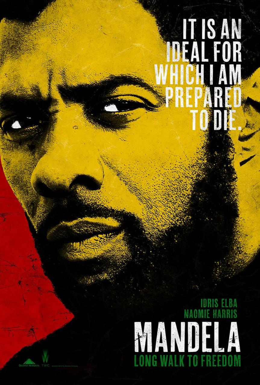 Mandela Long Walk To Freedom-Official Poster Banner PROMO POSTER-13SETEMBRO2013