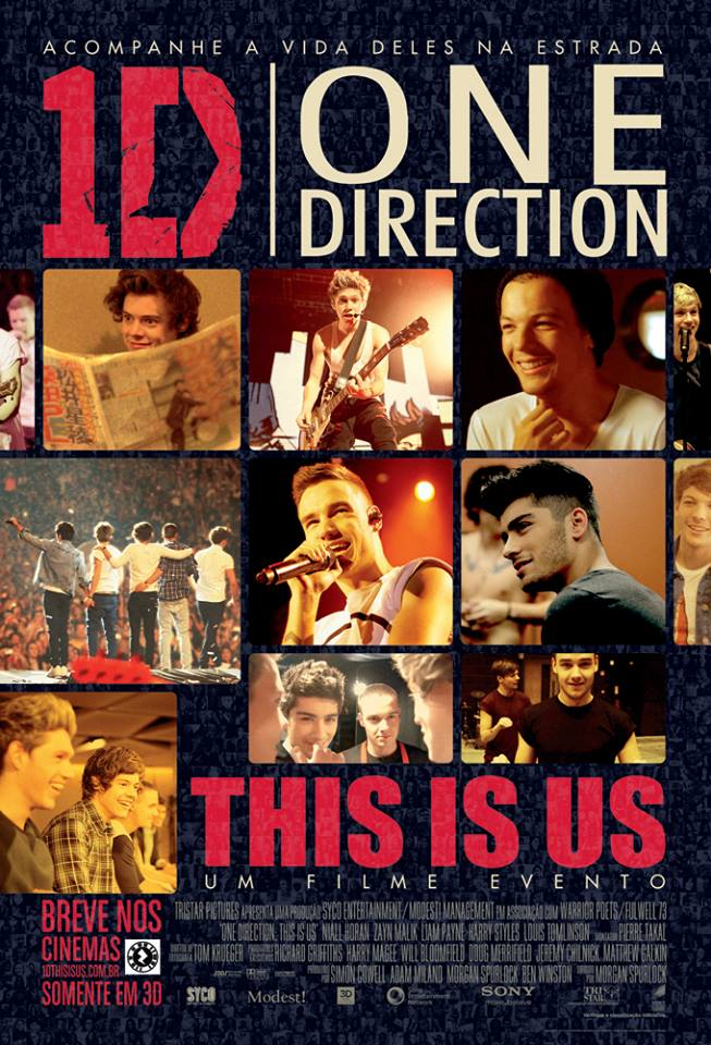 One Direction This Is Us-POSTER INTERNACIONAL