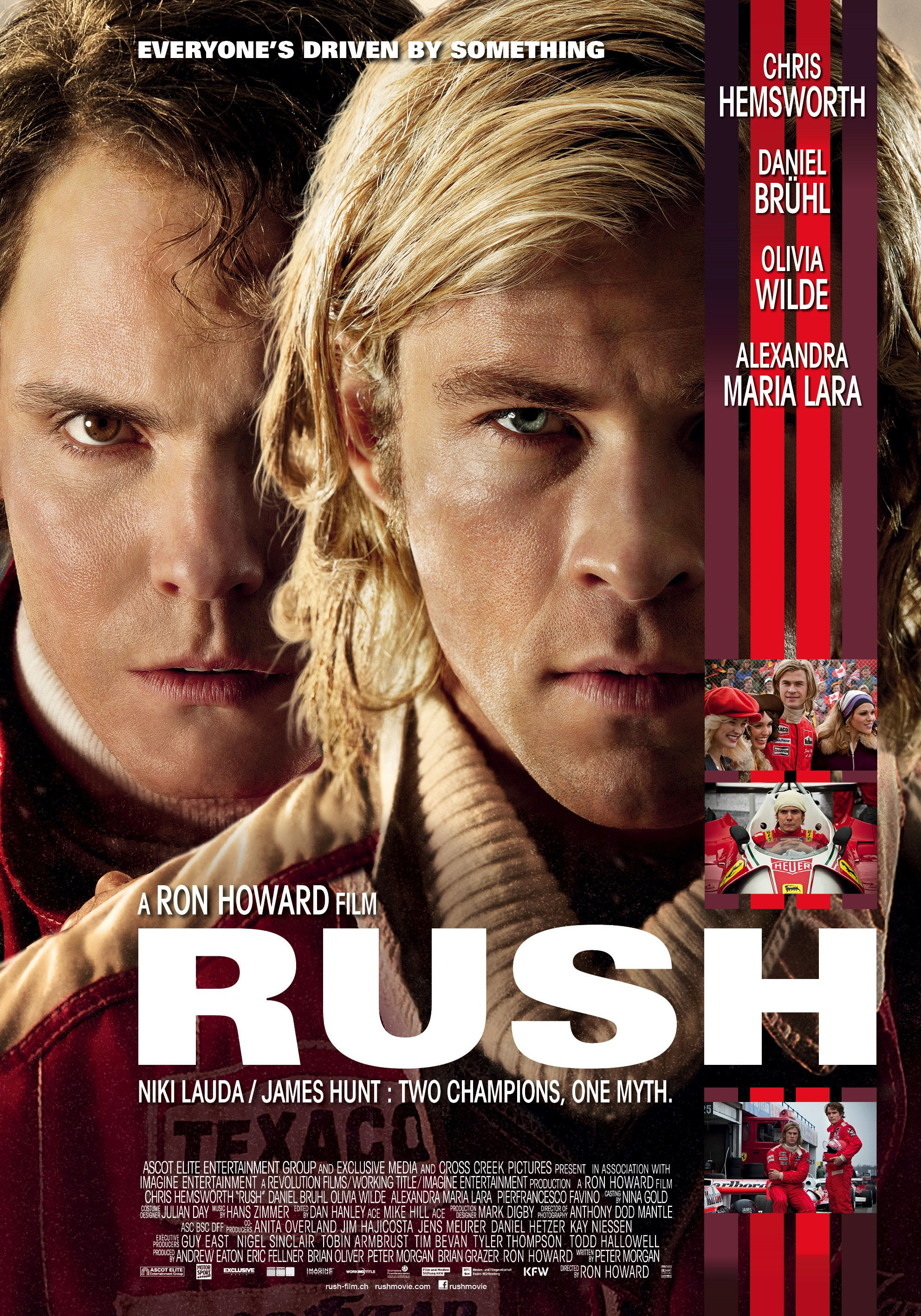 Rush-Official Poster Banner Poster PROMO-04SETEMBRO2013