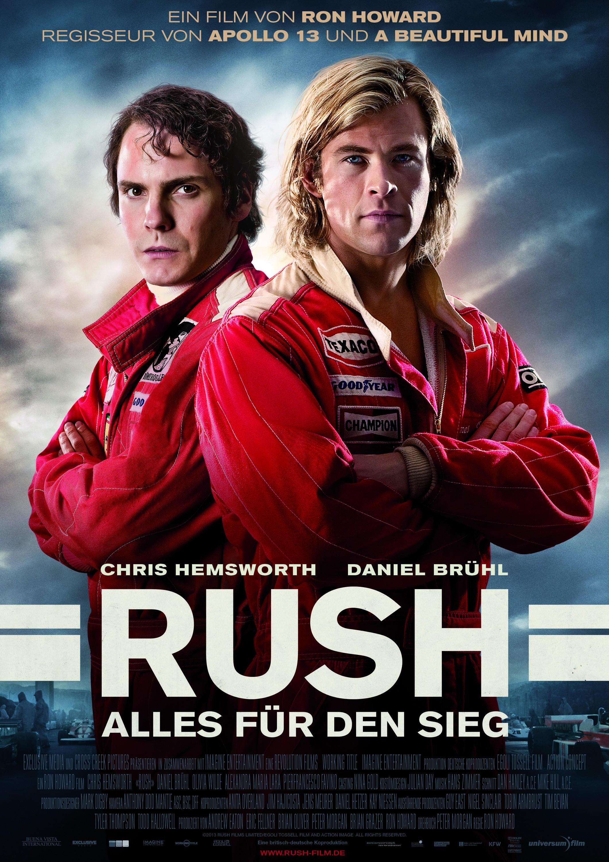 Rush-Official Poster Banner Poster PROMO INTERNATIONAL-02SETEMBRO2013