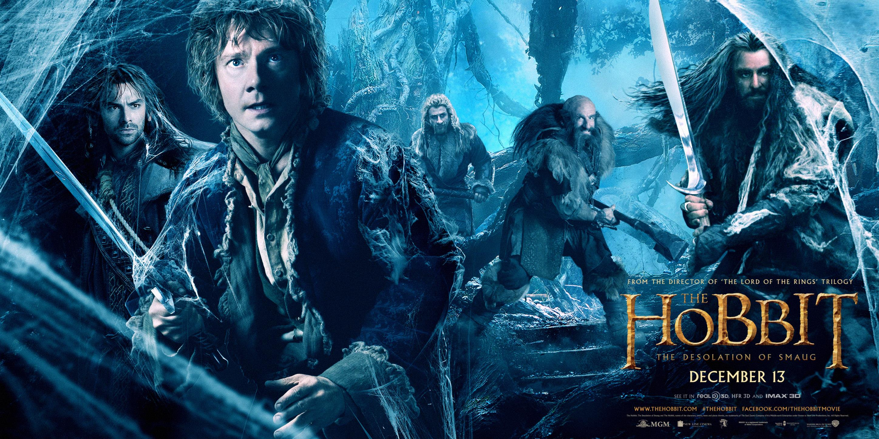 THE HOBBIT THE DESOLATION OF SMAUG-Official Poster Banner PROMO BANNER-30SETEMBRO2013