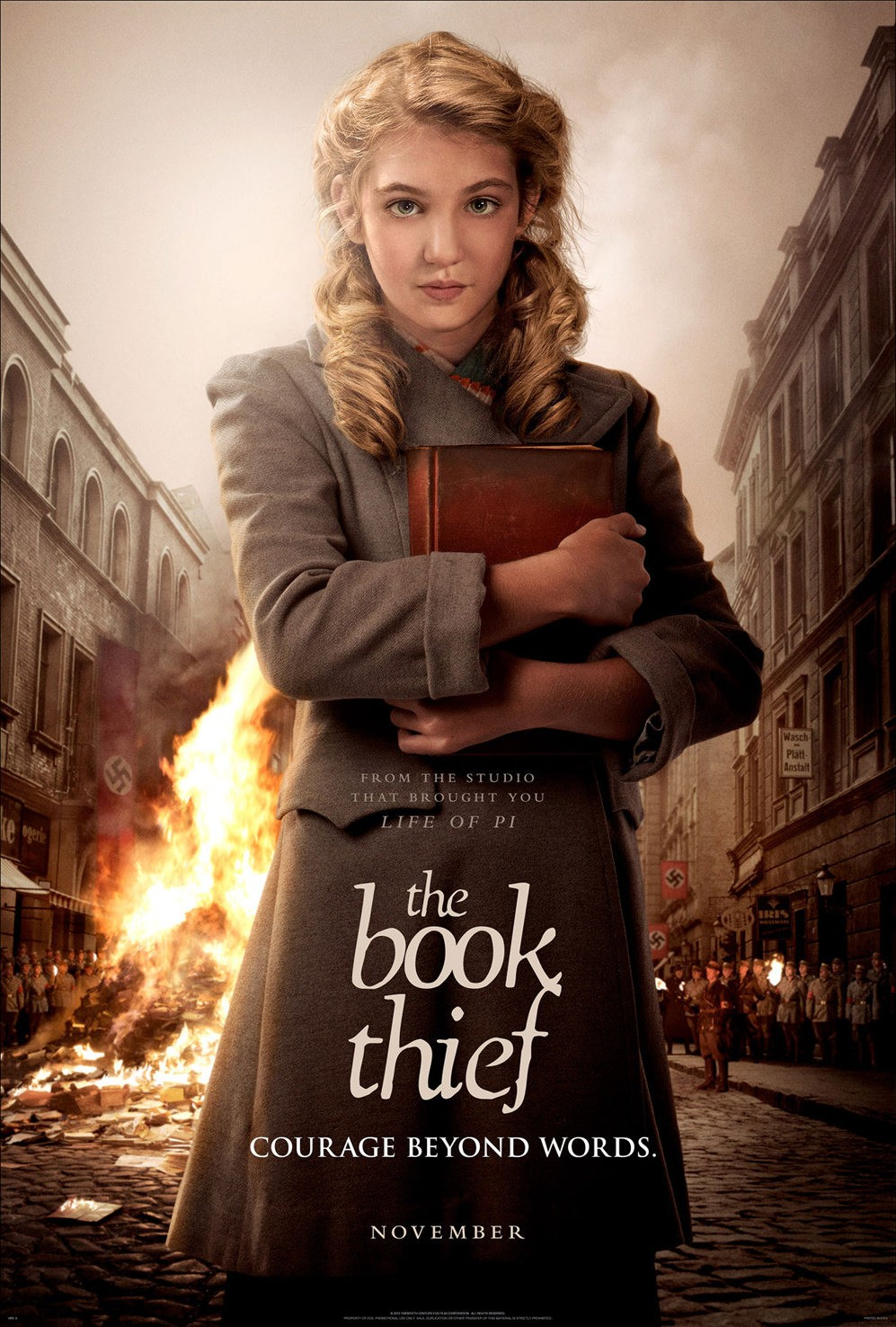 The Book Thief-Official Poster Banner PROMO POSTER-12SETEMBRO2013