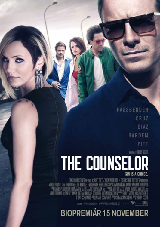 The Counselor-Official Poster Banner PROMO POSTER INTERNATIONAL-12SETEMBRO2013