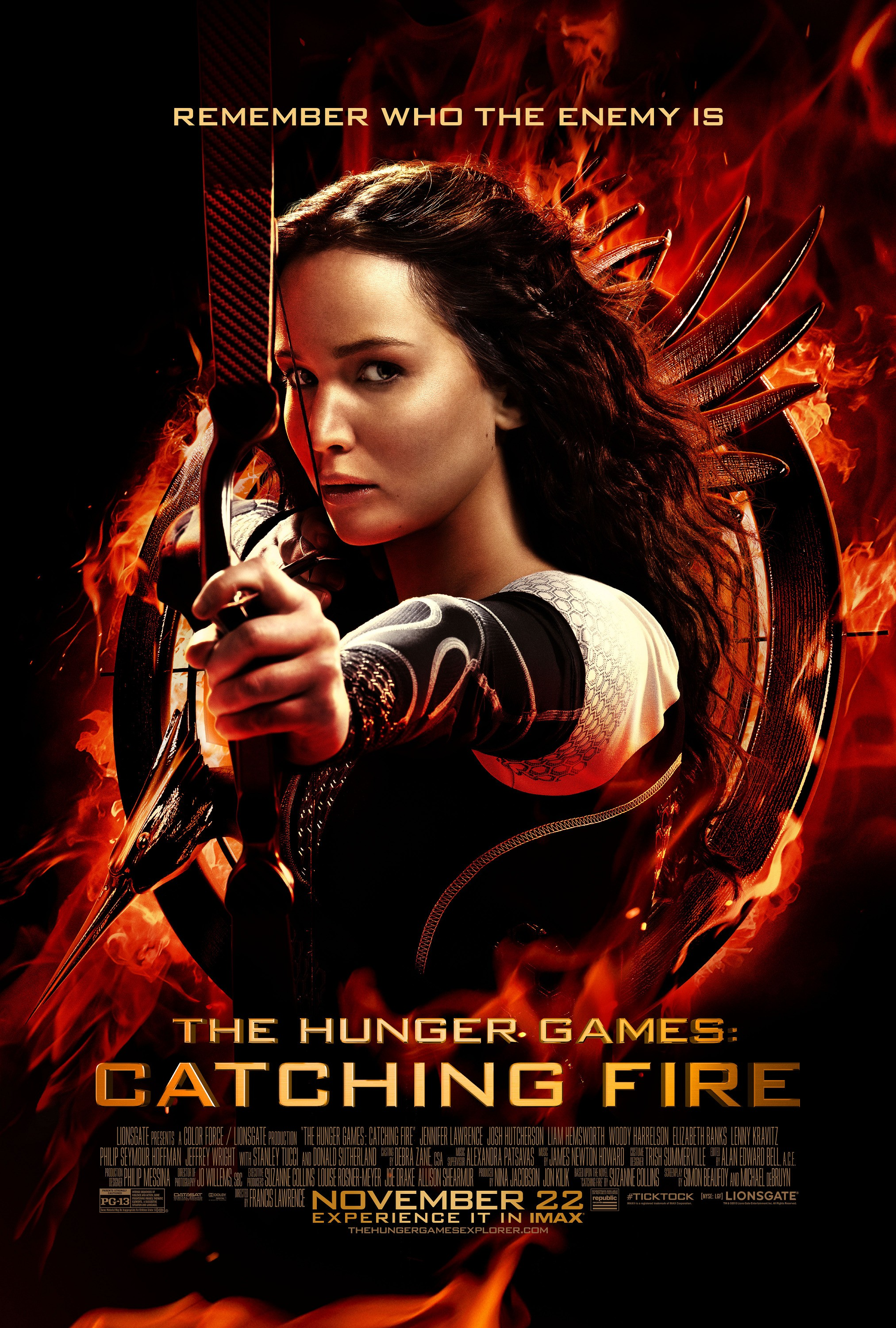 The Hunger Games Catching Fire-Official Poster Banner PROMO POSTER-30SETEMBRO2013