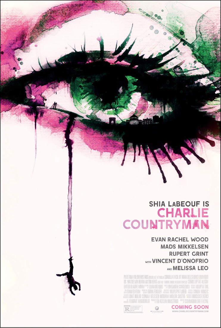 The Necessary Death of Charlie Countryman-Official Poster Banner PROMO POSTER-20SETEMBRO2013-01