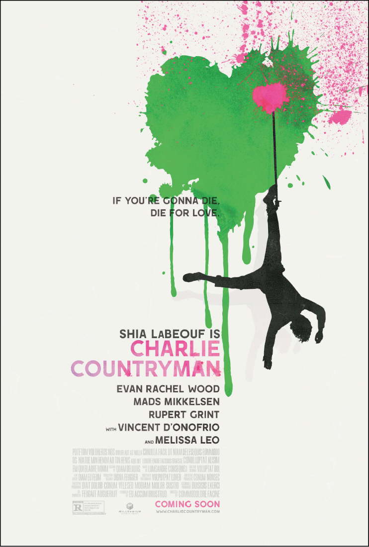 The Necessary Death of Charlie Countryman-Official Poster Banner PROMO POSTER-20SETEMBRO2013-02