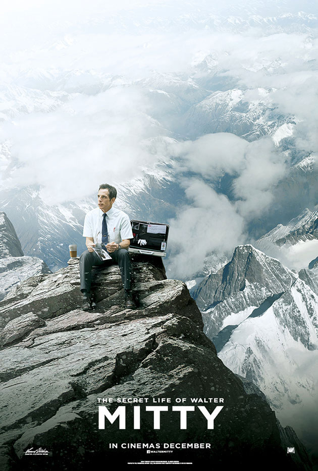 The Secret Life of Walter Mitty-Official Poster Banner PROMO POSTER-05SETEMBRO2013-02