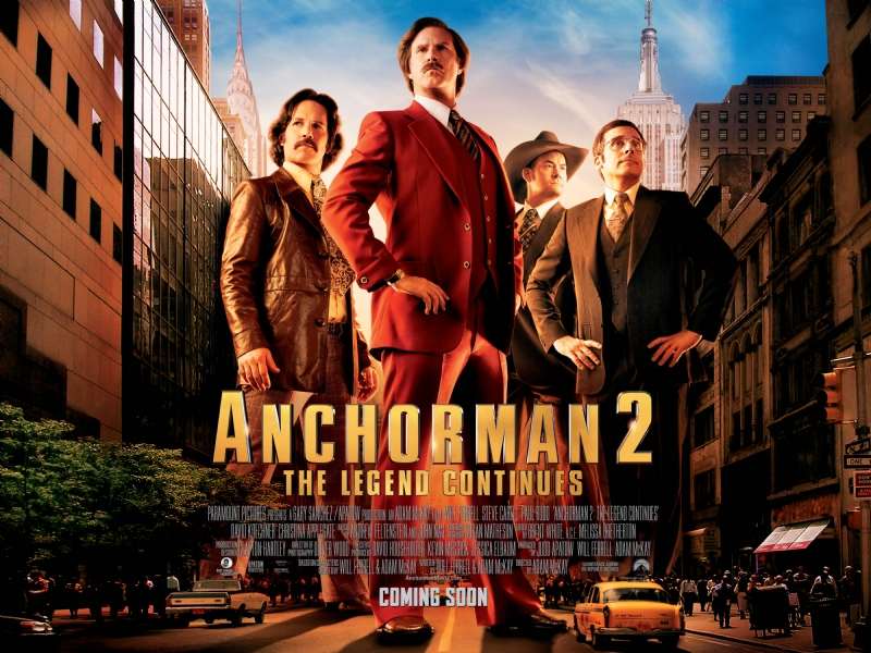 Anchorman The Legend Continues-Official Poster Banner PROMO POSTER-28OUTUBRO2013-01