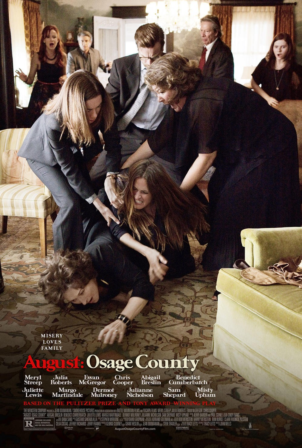 August Osage County-Official Poster Banner PROMO POSTER-16OUTUBRO2013
