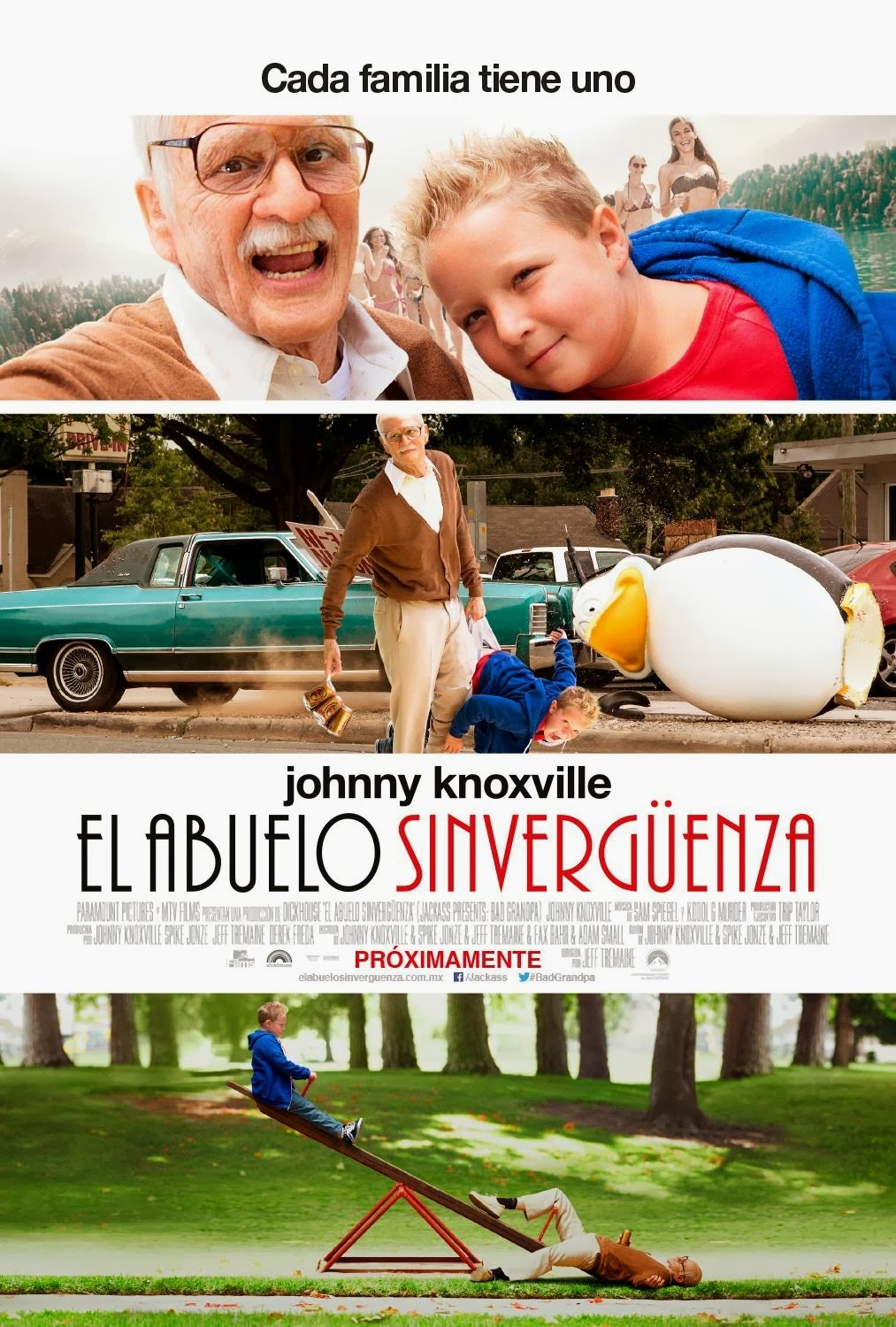 Bad Grandpa-Official Poster Banner PROMO POSTER-11OUTUBRO2013