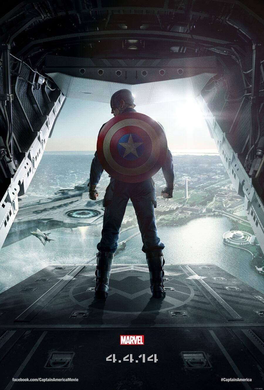 Captain America The Winter Soldier-Official Poster Banner PROMO POSTER-22OUTUBRO2013