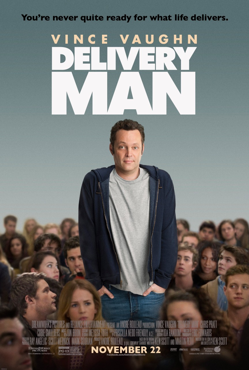 Delivery Man-Official Poster Banner PROMO POSTER-16OUTUBRO2013