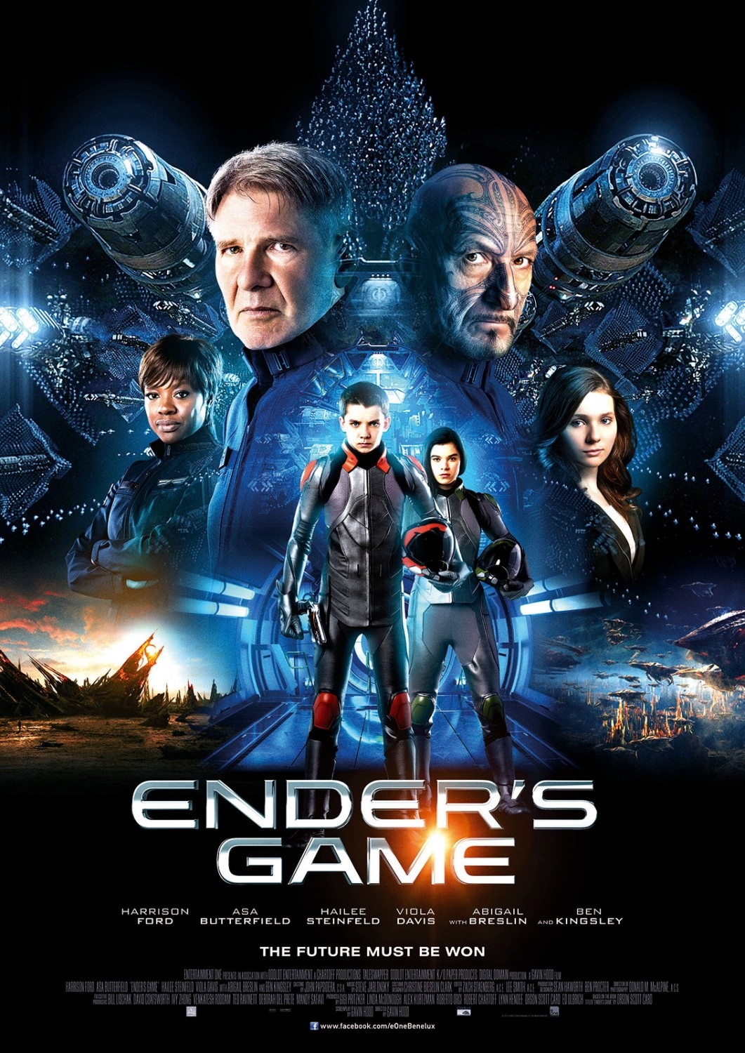 Ender's Game-Official Poster Banner PROMO POSTER-22OUTUBRO2013