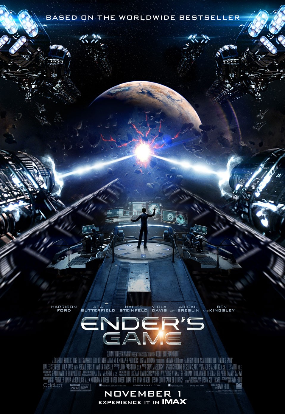 Ender's Game-Official Poster Banner PROMO IMAX-04OUTUBRO2013