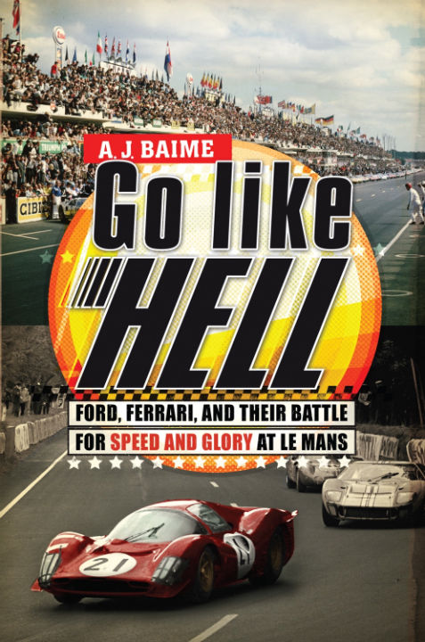 Go Like Hell-Official Poster Banner PROMO COVER BOOK-24OUTUBRO2013