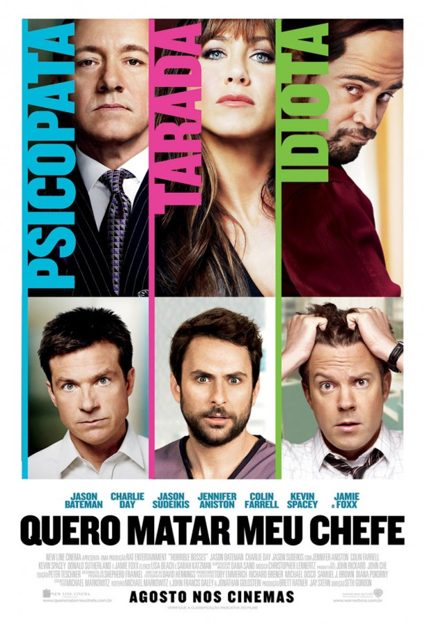Horrible Bosses-Official Poster Banner PROMO (2011)