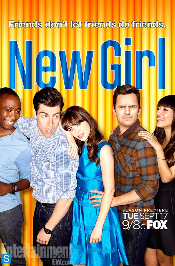 New Girl-Season 3-Official Poster Banner PROMO POSTER-11OUTUBRO2013
