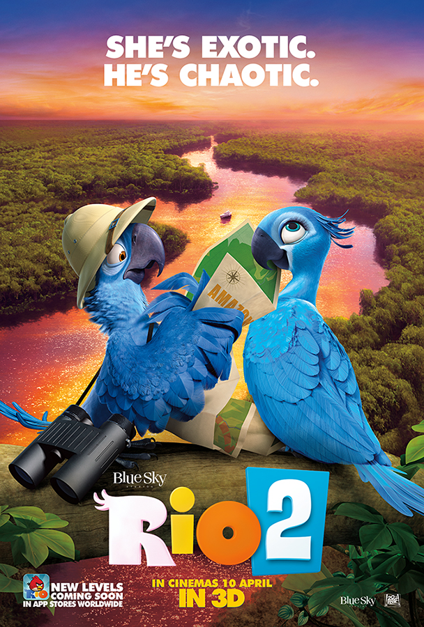 Rio 2-Official Poster Banner PROMO POSTER INTERNATIONAL-04OUTUBRO2013-01