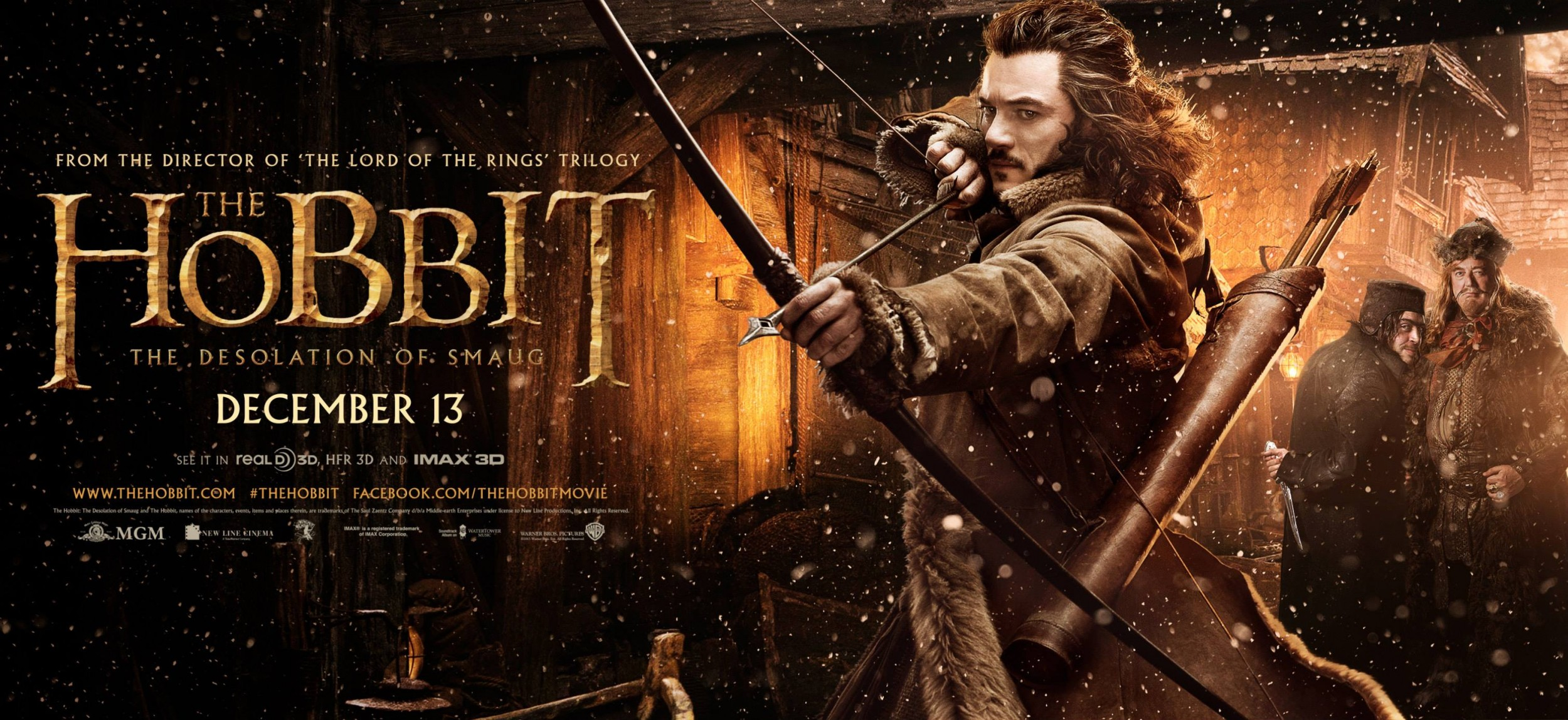 THE HOBBIT THE DESOLATION OF SMAUG-Official Poster Banner PROMO BANNER-30SETEMBRO2013-01