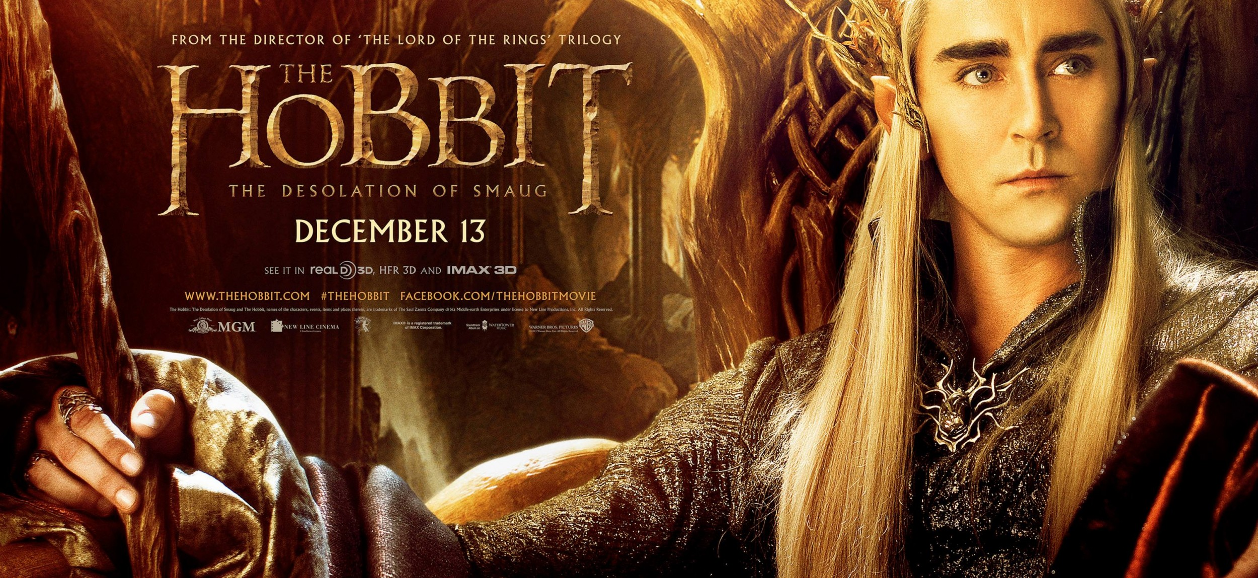 THE HOBBIT THE DESOLATION OF SMAUG-Official Poster Banner PROMO BANNER-30SETEMBRO2013-02