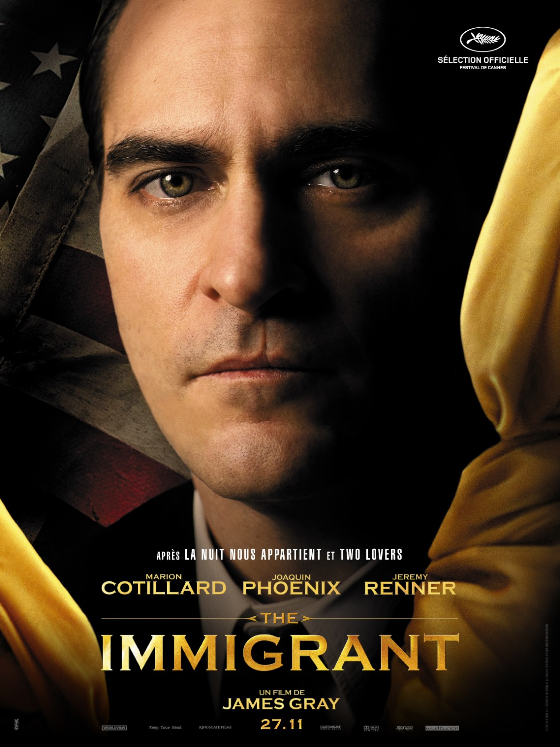 THE IMMIGRANT-Official Poster Banner PROMO CHAR-16OUTUBRO2013