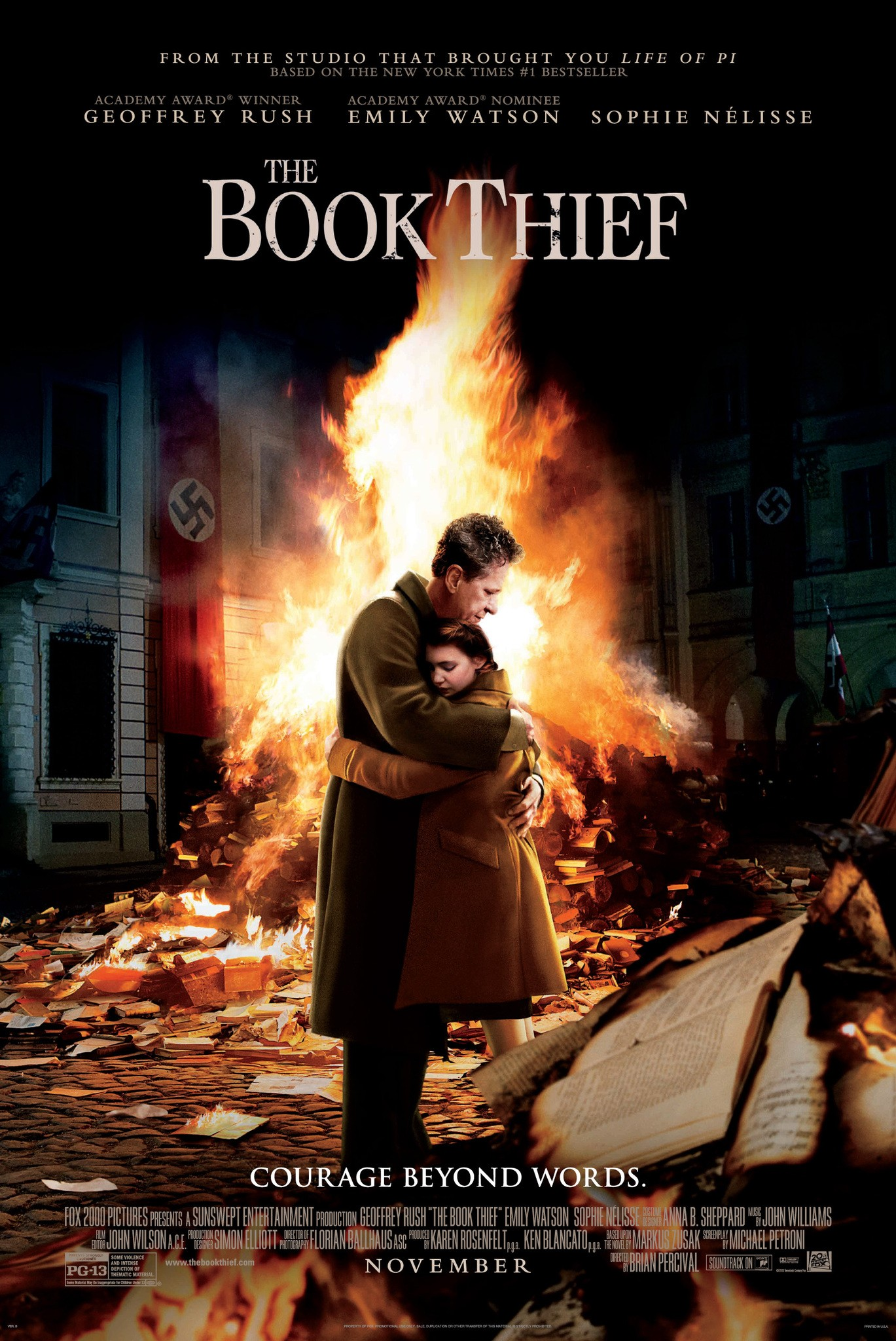 The Book Thief-Official Poster Banner PROMO POSTER-11OUTUBRO2013-01