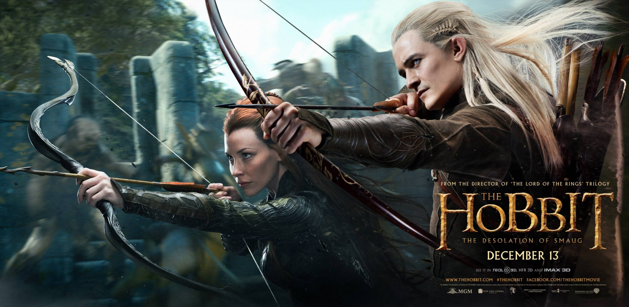 The Hobbit The Desolation of Smaug-Official Poster Banner PROMO BANNER-04OUTUBRO2013