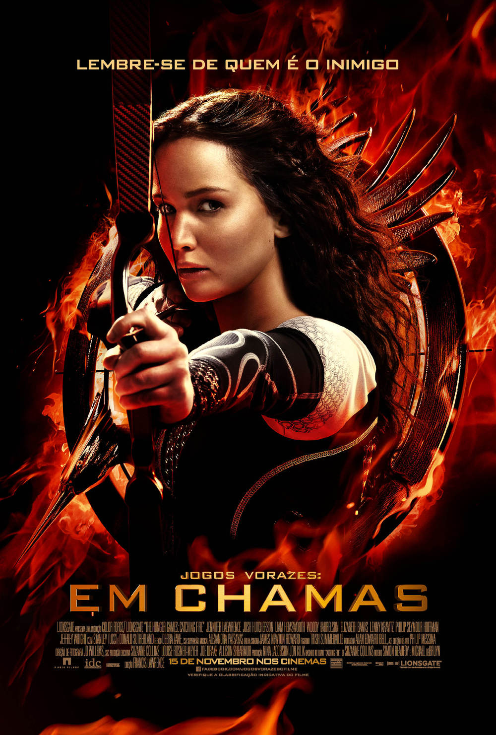 The Hunger Games Catching Fire-Official Poster Banner PROMO NACIONAL-02OUTUBRO2013
