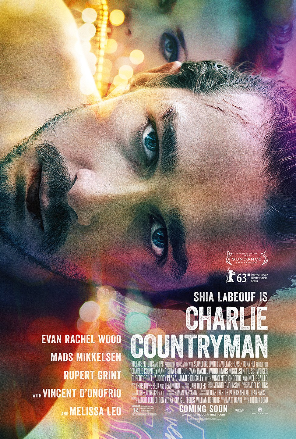 The Necessary Death of Charlie Countryman-Official Poster Banner PROMO POSTER-01OUTUBRO2013
