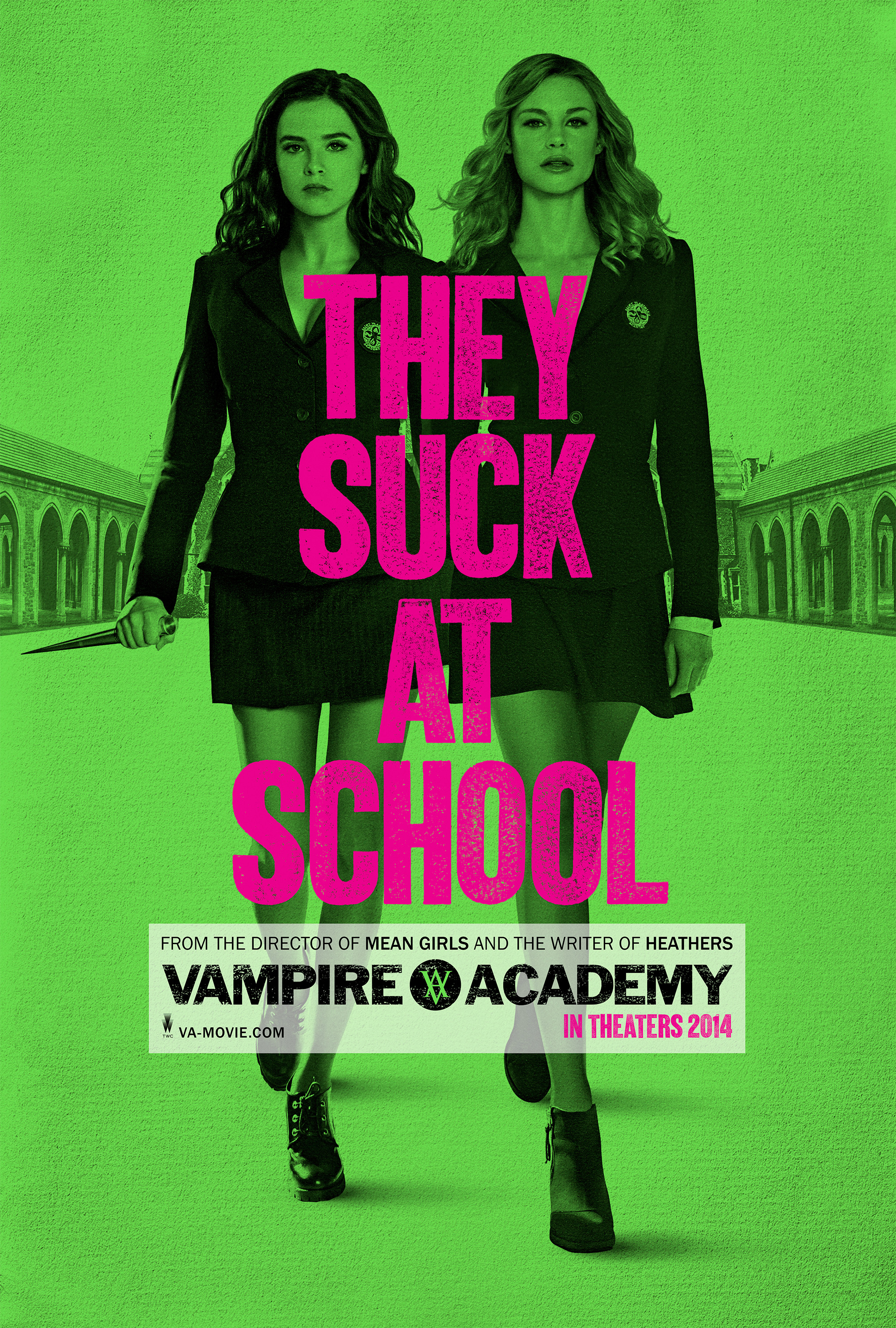 VAMPIRE ACADEMY BLOOD SISTERS-Official Poster Banner PROMO POSTER-14OUTUBRO2013