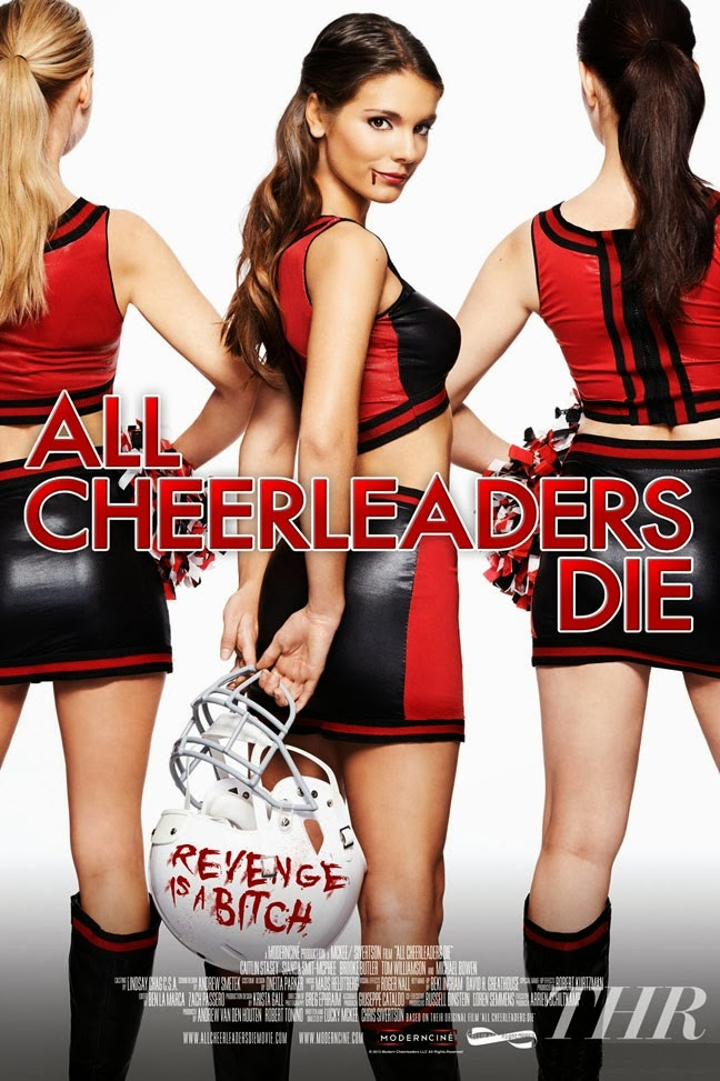 ALL CHEERLEADERS DIE-Official Poster Banner PROMO POSTER-13NOVEMBRO2013