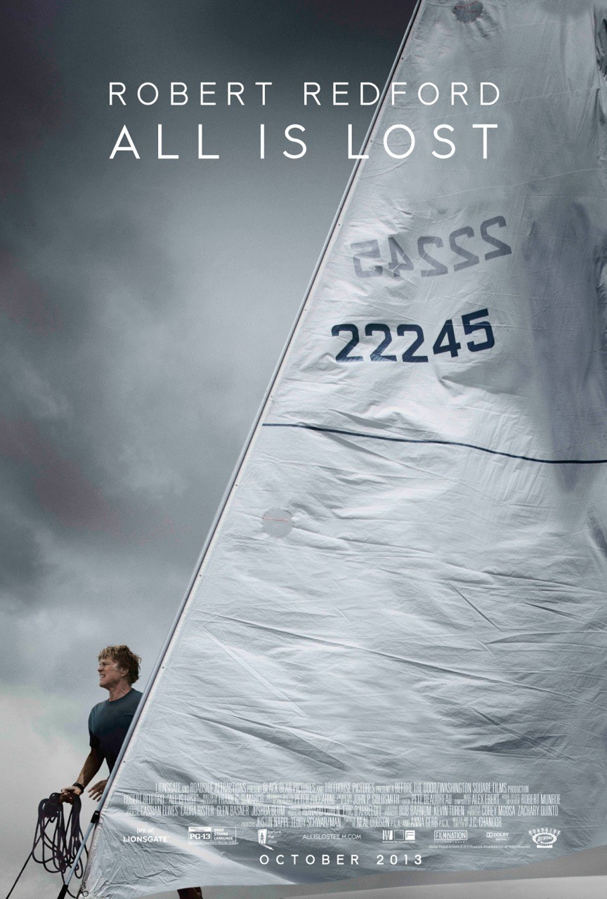 All Is Lost-Official Poster Banner PROMO POSTER-11NOVEMBRO2013-01