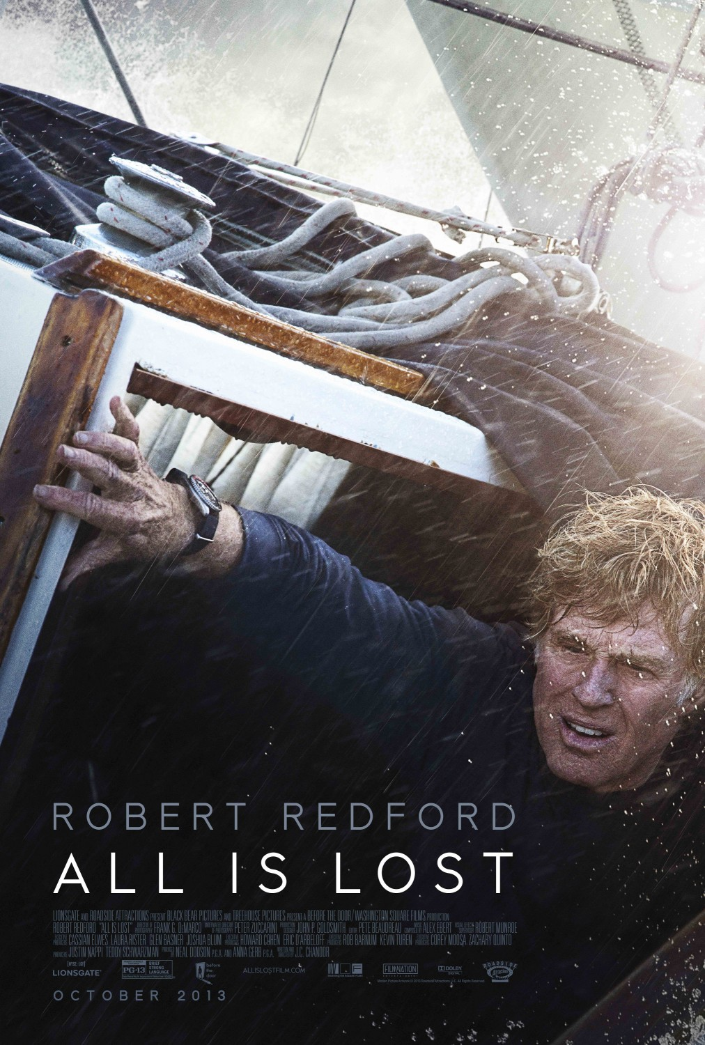 All Is Lost-Official Poster Banner PROMO POSTER-11NOVEMBRO2013-03