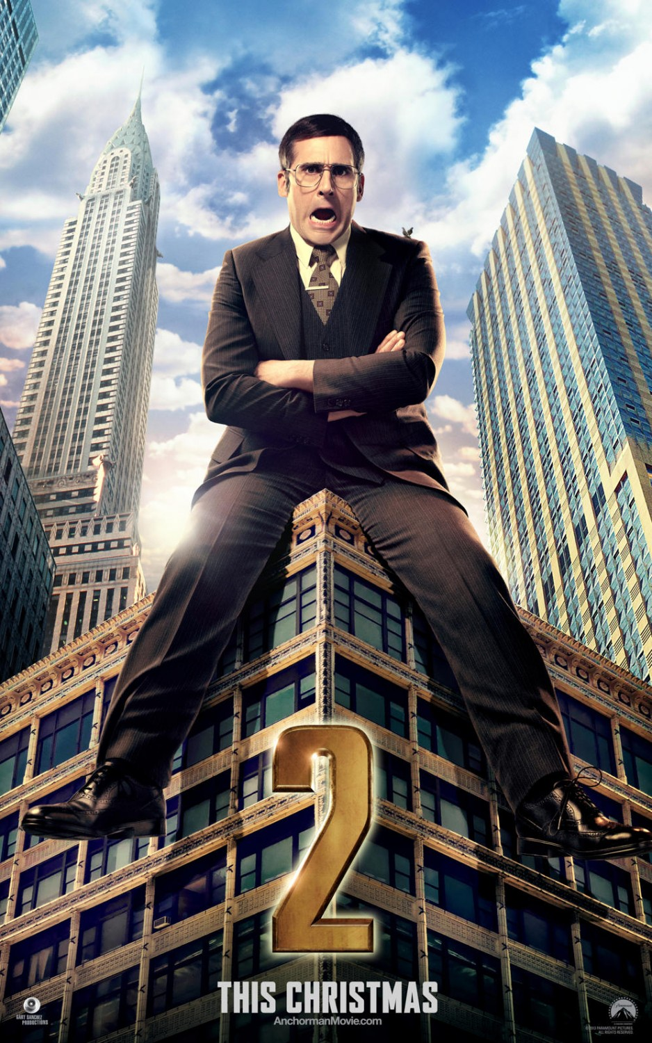 Anchorman 2 The Legend Continues-Official Poster Banner PROMO CHAR XLG-05NOVEMBRO2013-01