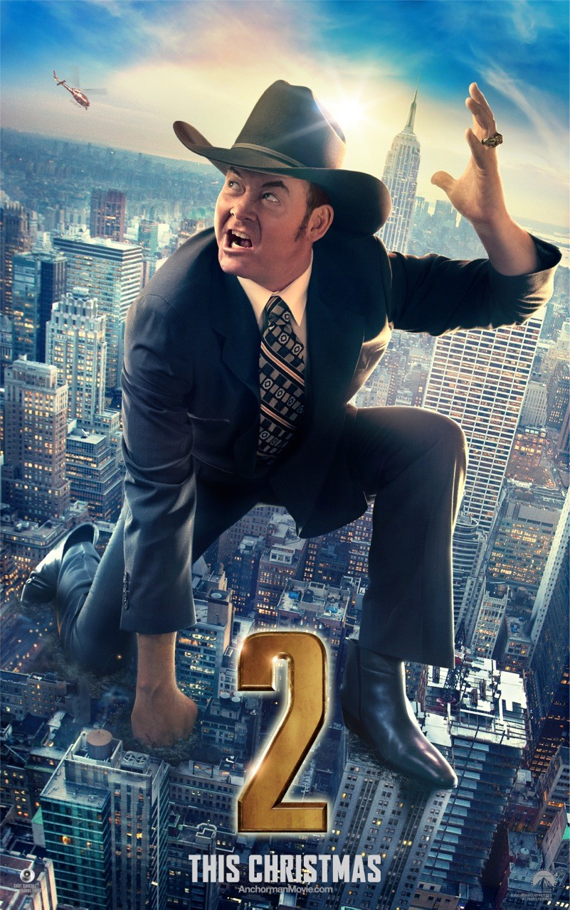 Anchorman 2 The Legend Continues-Official Poster Banner PROMO CHAR XLG-05NOVEMBRO2013-03