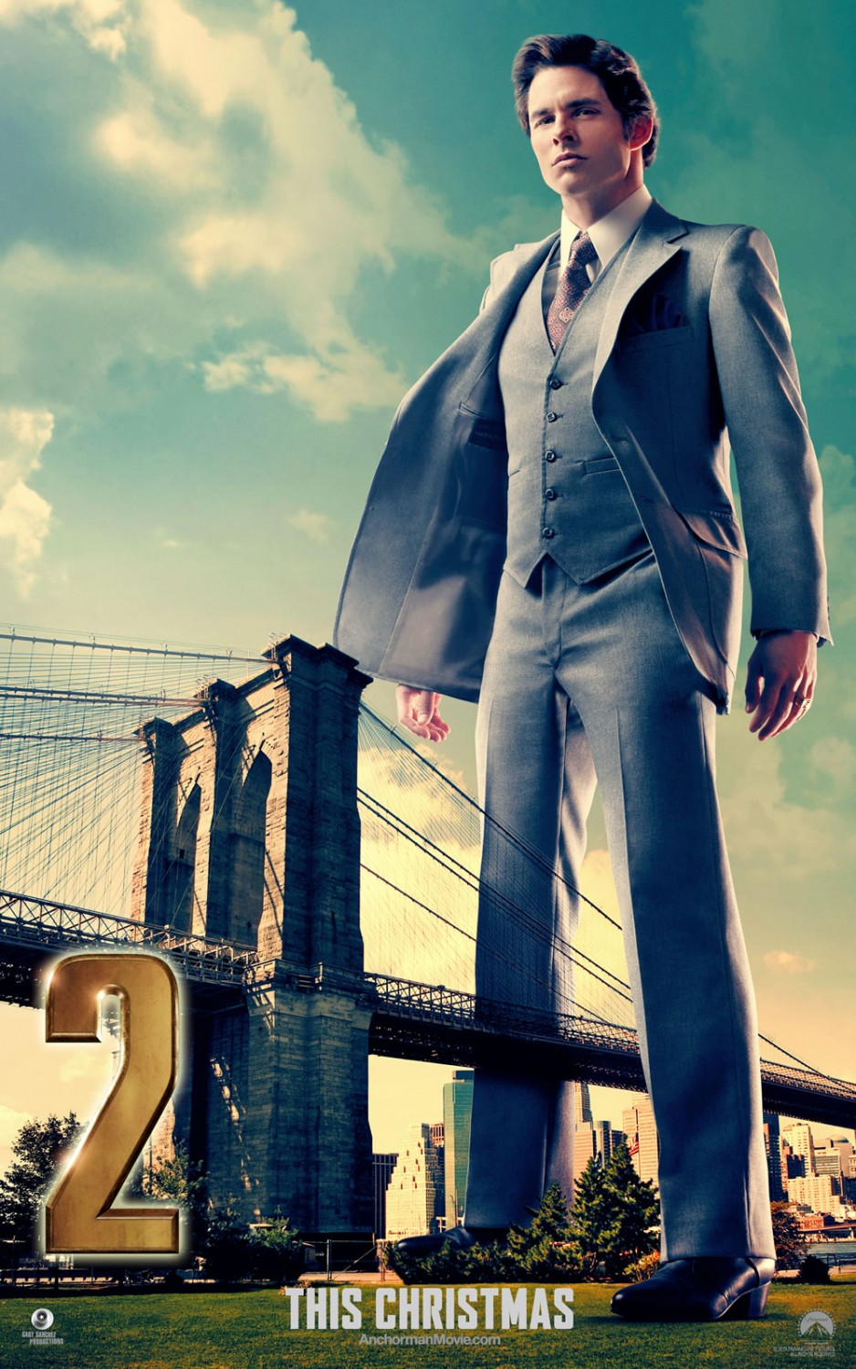 Anchorman 2 The Legend Continues-Official Poster Banner PROMO XLG-26NOVEMBRO2013-03