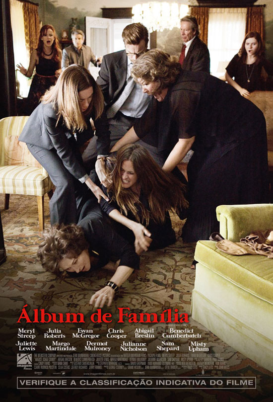 August Osage County-Official Poster Banner PROMO POSTER NACIONAL-27NOVEMBRO2013