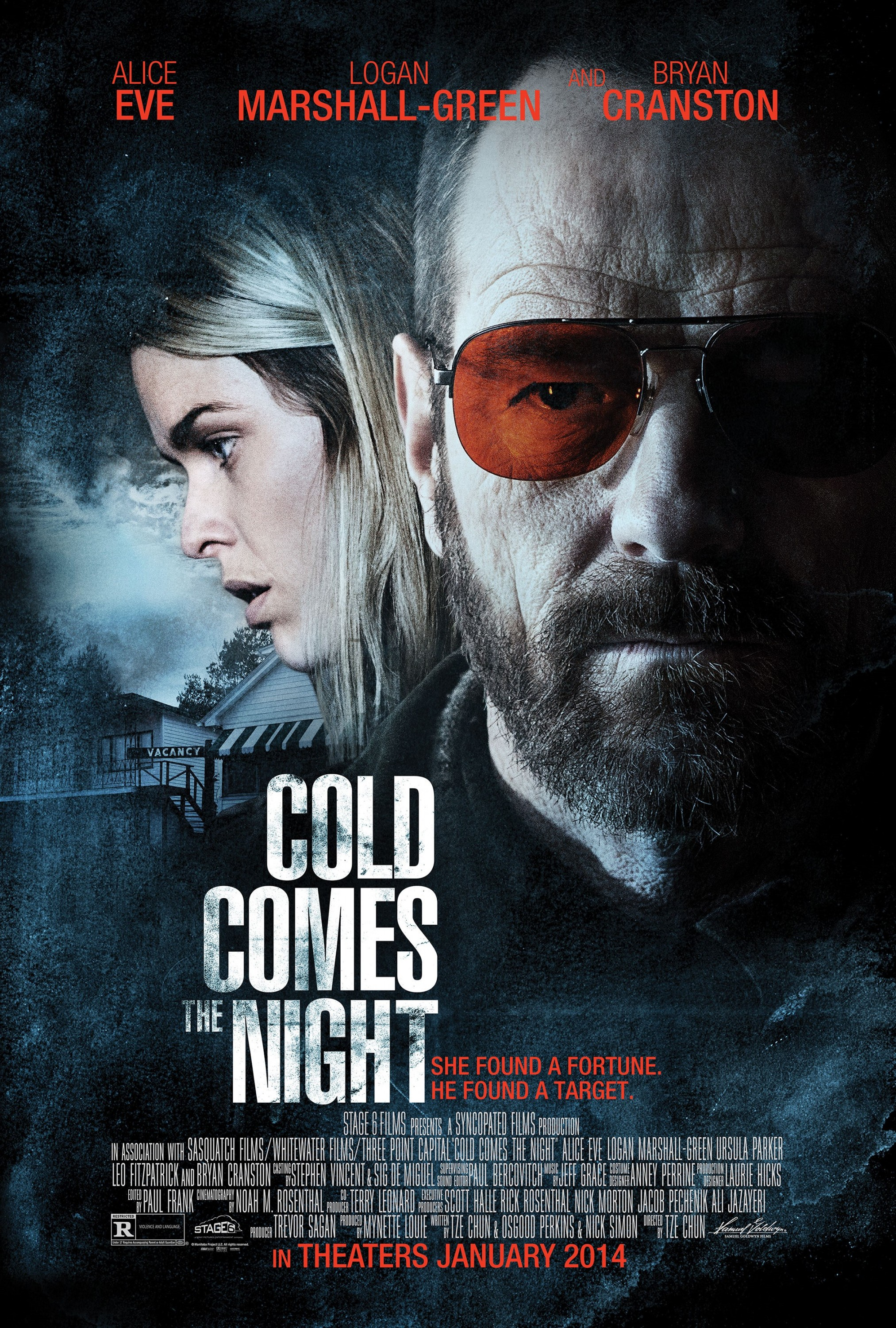 Cold Comes the Night-Official Poster Banner PROMO POSTER-28NOVEMBRO2013
