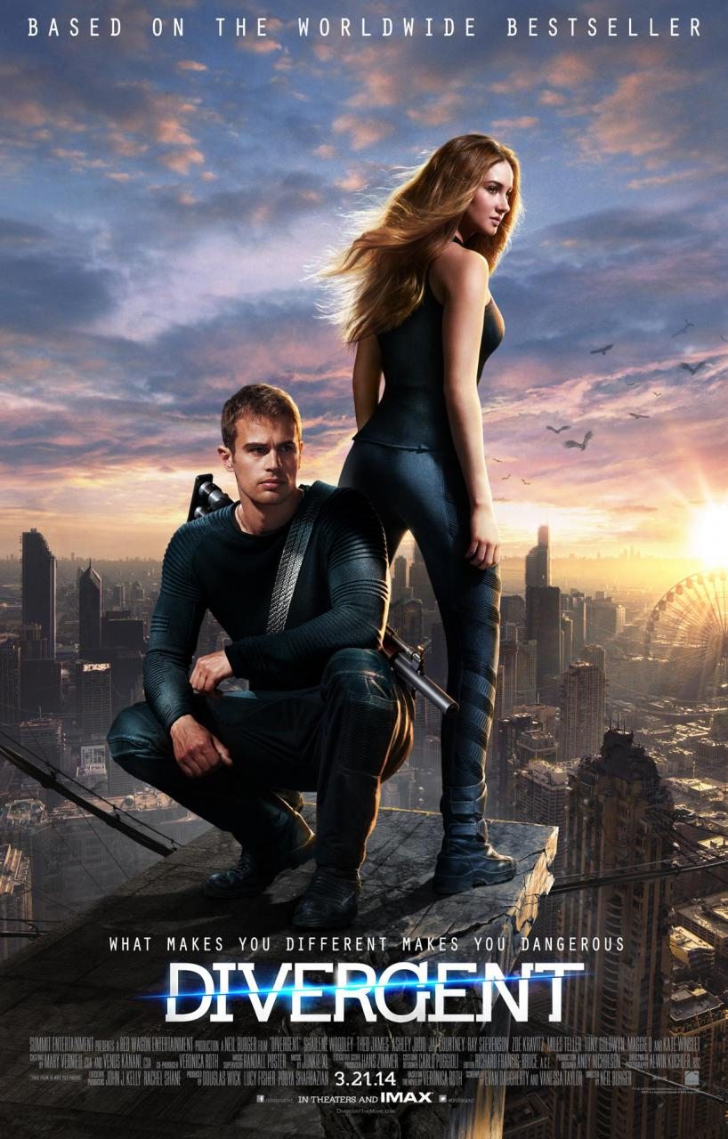 DIVERGENT-OFFICIAL POSTER BANNER POSTER XLG-12NOVEMBRO2013